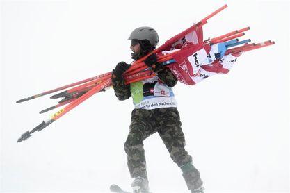 Cancelados el superG y la combinada de St.Moritz en los que no iba a salir Vonn