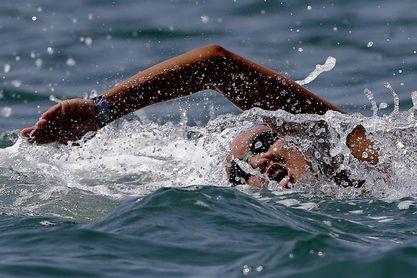 La nadadora brasileña de aguas abiertas Poliana Okimoto se retira de las competiciones