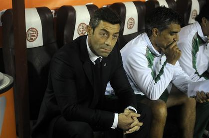 El portugués Caixinha dice que dirigir a un equipo grande siempre es importante