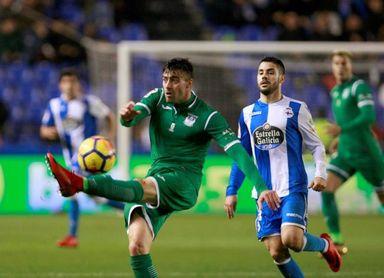 El Leganés vuelve al trabajo tras caer ante el Deportivo