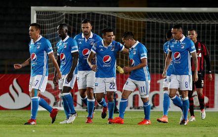 Millonarios empata y pasa a una final de la liga colombiana 100 % bogotana