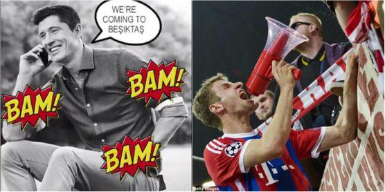 Así saluda el Bayern al Besiktas tras saber que son rivales en octavos