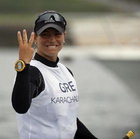 "Vasileia Karachaliou, la promesa de la vela griega tiene ""acento canario"""