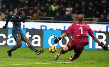 El Inter necesita la tanda de penaltis para eliminar al Pordenone, de Tercera