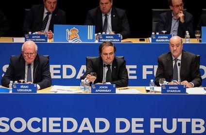 Jokin Aperribay, reelegido para otro mandato de 5 años en la Real Sociedad