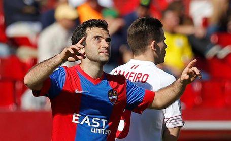 El Levante sólo ha ganado dos de sus catorce partidos en el campo del Sevilla
