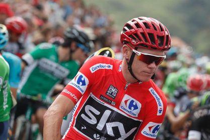 La UCI confirma el positivo de Chris Froome en la Vuelta a España 2017