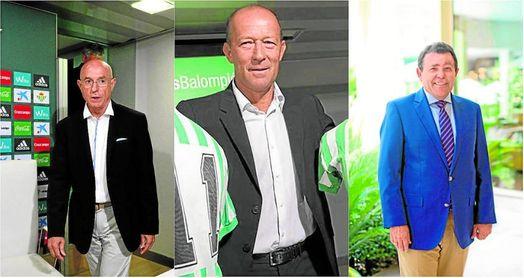 Serra, Calderó y Caro Ledesma, accionistas béticos.