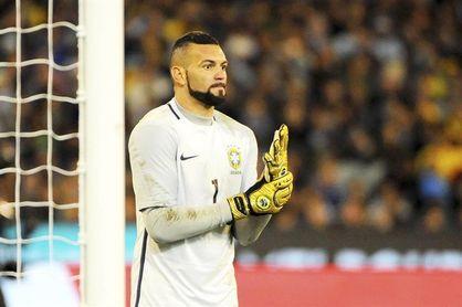 Palmeiras anuncia el fichaje del portero Weverton, campeón olímpico con Brasil