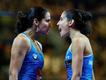 Las gemelas Sánchez Alayeto esperan poner la guinda a una temporada buenísima