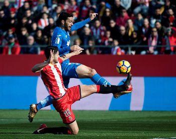 1-0. Cristhian Stuani alarga el sueño del Girona