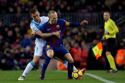 2-0. El Barça encarrila el duelo contra el Deportivo tras el primer tiempo