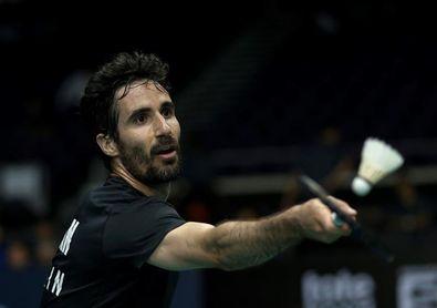 Pablo Abián se hace con el título en el Internacional de Italia de badminton en Milán