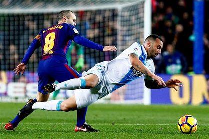 4-0. El Barça golea al Dépor y llegará al clásico con una renta de 11 puntos