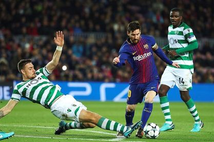 El Barcelona y Messi, líderes europeos en disparos al poste