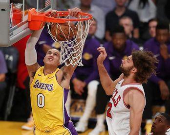 116-122. Kuzma y Lakers superan 51 puntos de Harden y acaban racha de Rockets