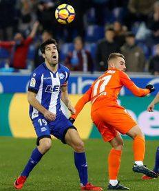 Manu García alcanza los 200 partidos con el Alavés