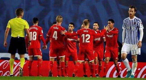 El Sevilla enciende las alarmas tras no ganar en los últimos cuatro partidos