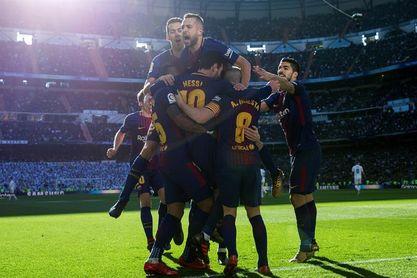 0-3. Luis Suárez, Messi y Aleix Vidal dan la victoria al Barcelona