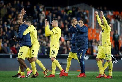 0-1. El colombiano Bacca mantiene el idilio del Villarreal con Mestalla