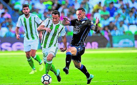 Dos jugadores verdiblancos concentran el 68% de las asistencias del equipo.
