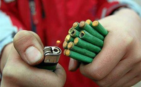 Un niño de 13 años pierde la mano en Jaén al explotarle un petardo.