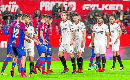 La mejor oportunidad para llegar las mil victorias en 2017 la tuvo ante el Levante, pero no pasó del 0-0.