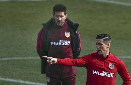 """Simeone: """"Torres es un reflejo absoluto de los valores del Atlético"""""""