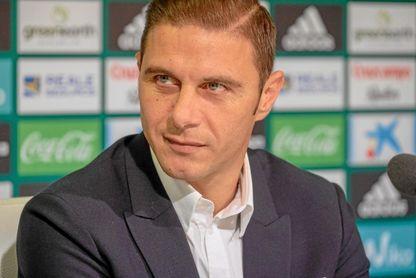 Joaquín habla sobre el nuevo entrenador del Sevilla.