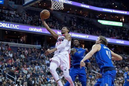 121-103. Porter y los Wizards agravan la crisis de los Rockets