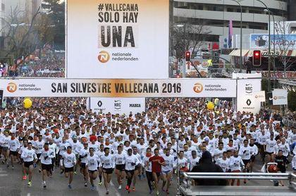 Doscientos mil deportistas despiden el año a la carrera en España