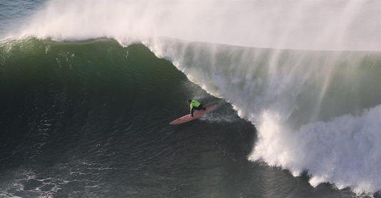 El estadounidense Nic Lamb gana el XII Punta Galea Challenge de olas grandes