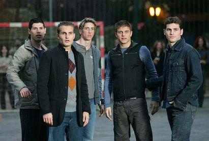 Joaquín y los 'Backstreet boys'