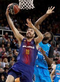 101-74. El Barcelona cierra el año con un triunfo convincente