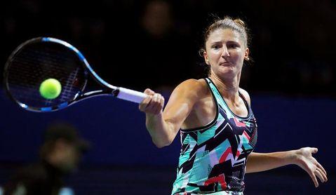 Begu y Siniakova superan la primera ronda; Wang cae ante Riske