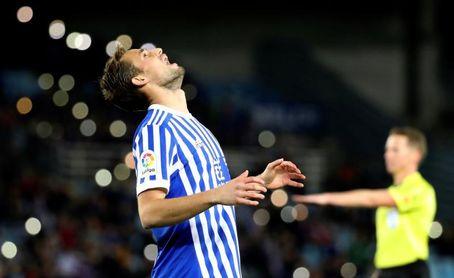 El belga Adnan Januzaj, seria duda para el partido ante el Leganés