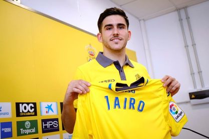 "Jairo Samperio agradece la ""apuesta fuerte"" de la UD Las Palmas por él"
