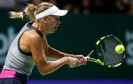 Wozniacki y Goerges, finalistas en Auckland