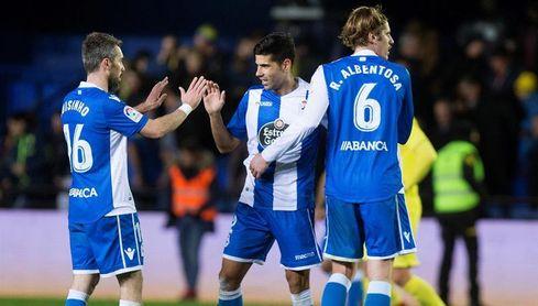 1-1. Andone da un merecido empate al Dépor ante el Villarreal