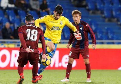 Las Palmas viajará mañana con 22 jugadores para visitar a Valencia y Girona