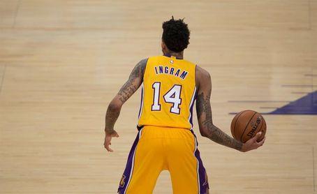 132-113. Ingram tuvo 20 tantos en el triunfo de los Lakers