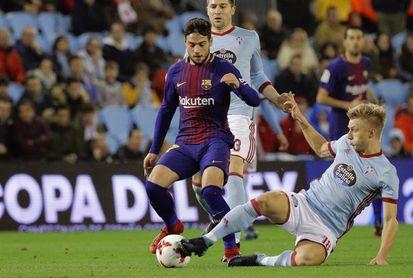 Celta y Las Palmas lanzan un órdago a Barcelona y Valencia