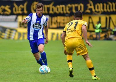 El Deportivo cede a Saúl García al Numancia