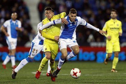 El Villarreal busca remontar ante un Leganés que busca ratificar la sorpresa