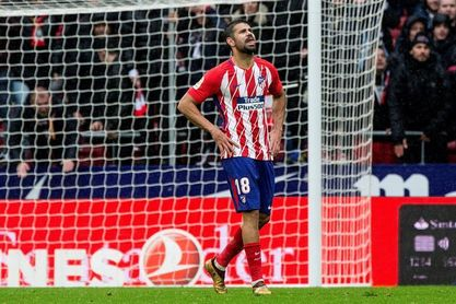 El Atlético recurrirá al Comité de Apelación la segunda amarilla a Costa