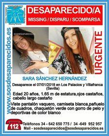 Policía Nacional activa el protocolo de búsqueda ante la desaparición de una joven de Los Palacios