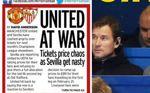 Guerra entre Sevilla y United por las entradas