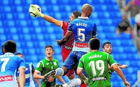 El Leganés es el tercer equipo menos goleado de la Liga con sólo 14 tantos en contra.