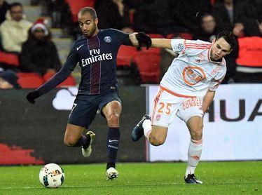 El brasileño Lucas Moura declinó irse cedido al Nantes, desvela Ranieri