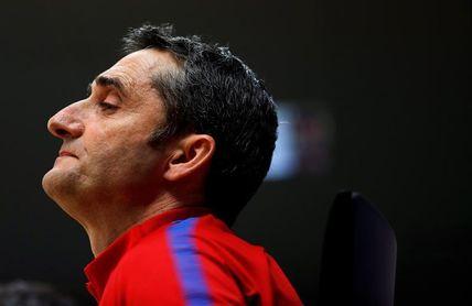 "Valverde: ""Si miramos atrás, estamos contentos. Pero interesa ganar al final"""